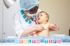 Υγειονομική περίθαλψη και επεξεργασία μωρών. Στοκ φωτογραφίες με δικαίωμα ελεύθερης χρήσης