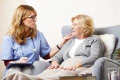 Υγειονομική περίθαλψη στο σπίτι στοκ εικόνα με δικαίωμα ελεύθερης χρήσης