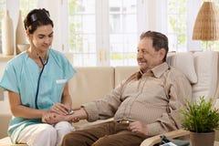 Υγειονομική περίθαλψη στο σπίτι Στοκ Φωτογραφίες