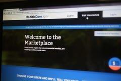 Υγειονομική περίθαλψη gov. Στοκ Φωτογραφίες