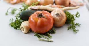 υγιές λαχανικό μιγμάτων τρόπου ζωής ανασκόπησης Στοκ Φωτογραφίες