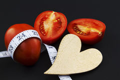 υγιές βάρος καρδιών σιτηρ&e Στοκ Εικόνες
