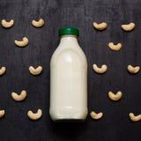 υγιές γάλα καρυδιών veagn Στοκ Φωτογραφία