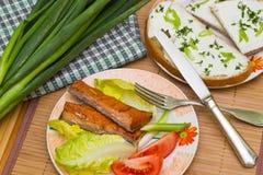 Υγιές γεύμα Στοκ εικόνα με δικαίωμα ελεύθερης χρήσης