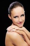υγιές δέρμα κοριτσιών στοκ εικόνες με δικαίωμα ελεύθερης χρήσης