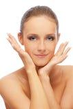 υγιές δέρμα κοριτσιών στοκ εικόνα με δικαίωμα ελεύθερης χρήσης