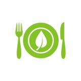 Υγιές εικονίδιο επιλογών τροφίμων Στοκ φωτογραφίες με δικαίωμα ελεύθερης χρήσης