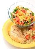 υγιές ελαφρύ μεσημεριανό γεύμα Στοκ Εικόνες