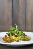 Υγιές ελαφρύ μεσημεριανό γεύμα για να κλωτσήσει την έναρξη η διατροφή Στοκ Φωτογραφίες
