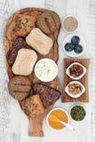 Υγιές ελληνικό πρόχειρο φαγητό στοκ εικόνα με δικαίωμα ελεύθερης χρήσης