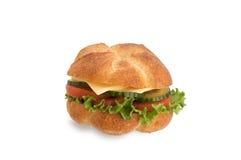 υγιές λαχανικό σάντουιτσ στοκ εικόνες