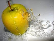 υγιές μήλο Στοκ Φωτογραφία