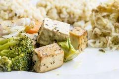 Υγιές μακροβιοτικό γεύμα Στοκ Εικόνες