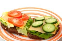 υγιές μεσημεριανό γεύμα Στοκ εικόνες με δικαίωμα ελεύθερης χρήσης