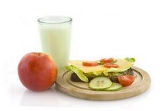 υγιές μεσημεριανό γεύμα Στοκ Εικόνες