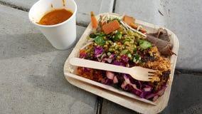 υγιές μεσημεριανό γεύμα Στοκ Φωτογραφίες