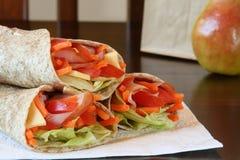 υγιές μεσημεριανό γεύμα Στοκ Φωτογραφία