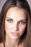 υγιές να φανεί brunette νέος στοκ εικόνες