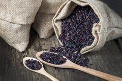 Υγιές οργανικό ρύζι τροφίμων Στοκ εικόνα με δικαίωμα ελεύθερης χρήσης