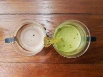 Υγιές ποτό για δύο Στοκ Φωτογραφίες