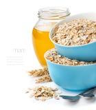 Υγιές πρόγευμα, μίγμα νιφάδων δημητριακών Στοκ φωτογραφία με δικαίωμα ελεύθερης χρήσης