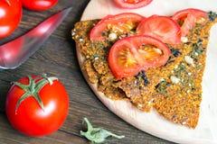 Υγιές πρόχειρο φαγητό για μια vegan διατροφή στοκ εικόνες