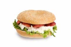 υγιές σάντουιτς καρπού στοκ φωτογραφία με δικαίωμα ελεύθερης χρήσης
