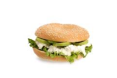υγιές σάντουιτς καρπού στοκ φωτογραφίες