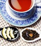 υγιές τσάι φλυτζανιών Στοκ Εικόνα