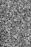 Υγιές υπόβαθρο δημητριακών προγευμάτων στεφανών multigrain στοκ φωτογραφία