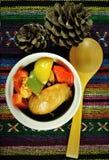 Υγιές φρέσκο υπόβαθρο τροφίμων σαλατών Στοκ φωτογραφίες με δικαίωμα ελεύθερης χρήσης