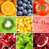 Υγιές φρέσκο υπόβαθρο τροφίμων στοκ εικόνα με δικαίωμα ελεύθερης χρήσης