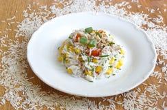 Υγιές φυτικό risotto Στοκ Φωτογραφίες