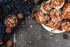 Υγιές ψήσιμο φθινοπώρου Στοκ εικόνες με δικαίωμα ελεύθερης χρήσης