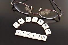 υγιές όραμα Στοκ Εικόνες