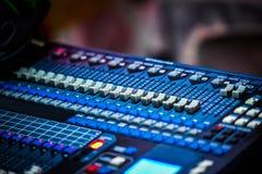 υγιές ύφος μουσικής s αναμικτών εξοπλισμού του DJ Στοκ εικόνες με δικαίωμα ελεύθερης χρήσης