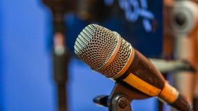 Υγιές Mic μικρόφωνο για την επικοινωνία στοκ εικόνες
