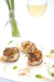 υγιές turmeric οστράκων πιάτων Στοκ Εικόνες