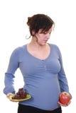 υγιής έγκυος Στοκ Εικόνα