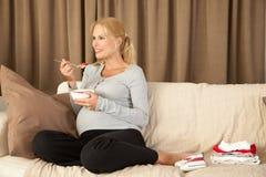 υγιής εγκυμοσύνη Στοκ Εικόνα