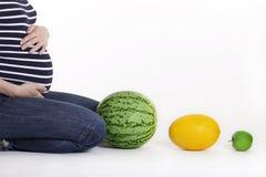 Υγιής εγκυμοσύνη Στοκ φωτογραφία με δικαίωμα ελεύθερης χρήσης