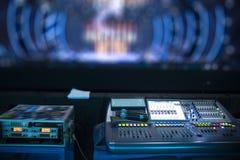 υγιής εξοπλισμός στη συναυλία στοκ εικόνες