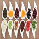 Υγιής επιλογή τροφίμων Στοκ Εικόνες