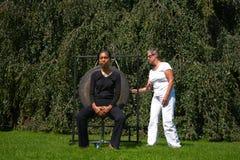 Υγιής θεραπεία Gong Στοκ φωτογραφία με δικαίωμα ελεύθερης χρήσης