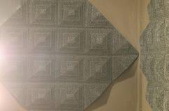 Υγιής καταγραφή λεκτικών μαξιλαριών στο δωμάτιο Στοκ Φωτογραφίες