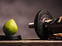 Υγιής κατανάλωση και αθλητισμός Στοκ Εικόνες