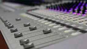 Υγιής μηχανικός, ήχος στούντιο, μηχανικός ελέγχου παραγωγών, ακουστική κονσόλα μίξης φιλμ μικρού μήκους