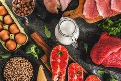 υγιής οργανικός τροφίμων Στοκ Εικόνες
