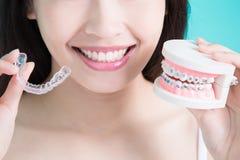 Υγιής οδοντική έννοια Στοκ φωτογραφία με δικαίωμα ελεύθερης χρήσης