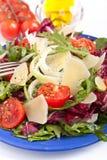 υγιής σαλάτα μιγμάτων τυρ&iot στοκ φωτογραφία